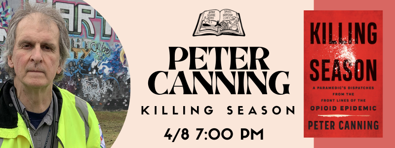Peter Canning Event Banner