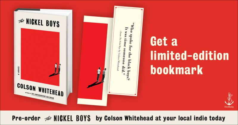 Preorder this book and get a limited-edition bookmark.